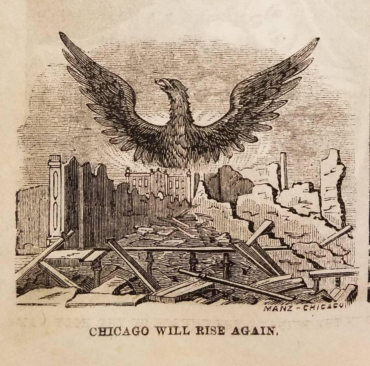 Чикаго после великого пожара 1871 года - Stone Forest