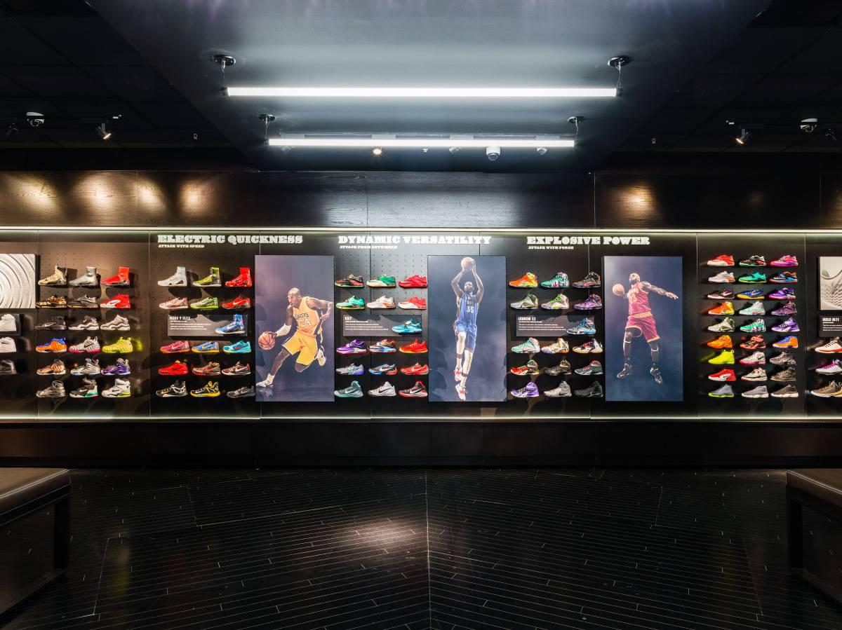 Магазины House of Hoops — главная баскетбольная сеть Nike и Foot Locker