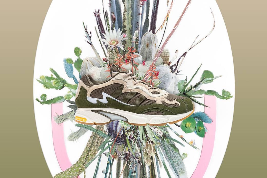 Кроссовки adidas Consortium x Saint Alfred Temper Run — осенний дебют
