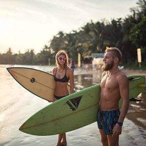 Серфинг на Шри Ланке - Stone Forest