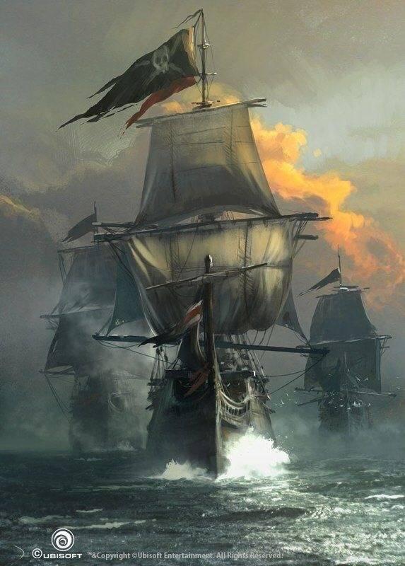Пиратский корабль - Stone Forest