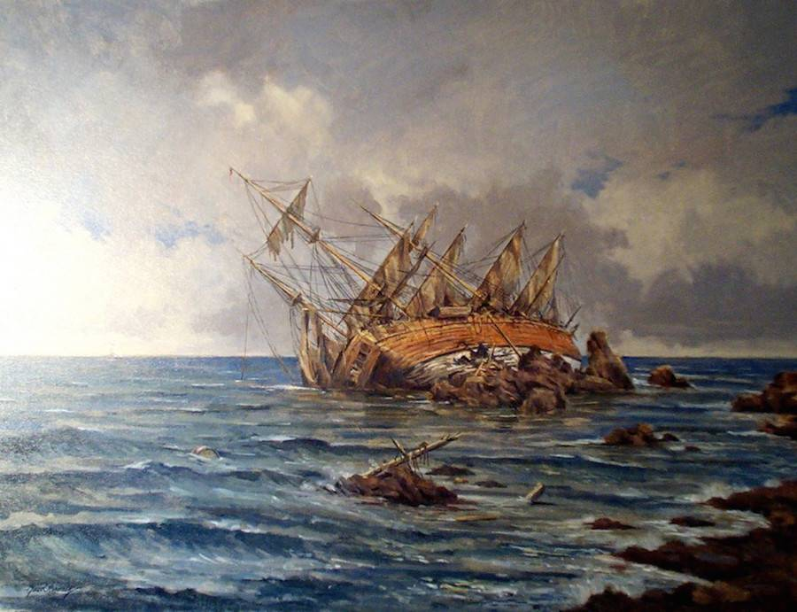 Корабль Аточа - Stone Forest