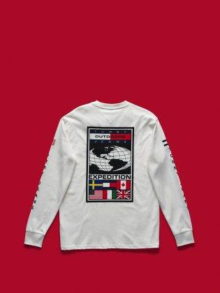 Свитшот Tommy Jeans Outdoors - Stone Forest
