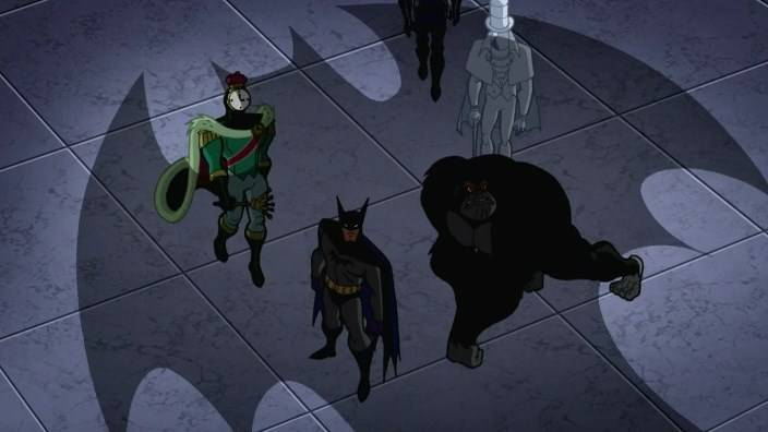Оулмен Batman: The Brave And The Bold - Stone Forest