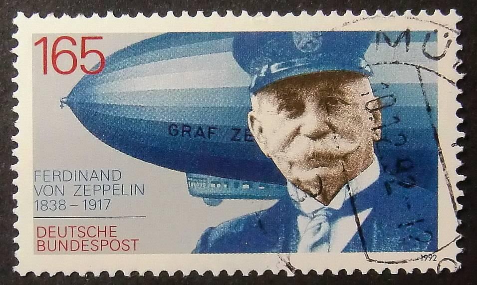 Граф Фердинанд фон Цеппелин - Stone Forest