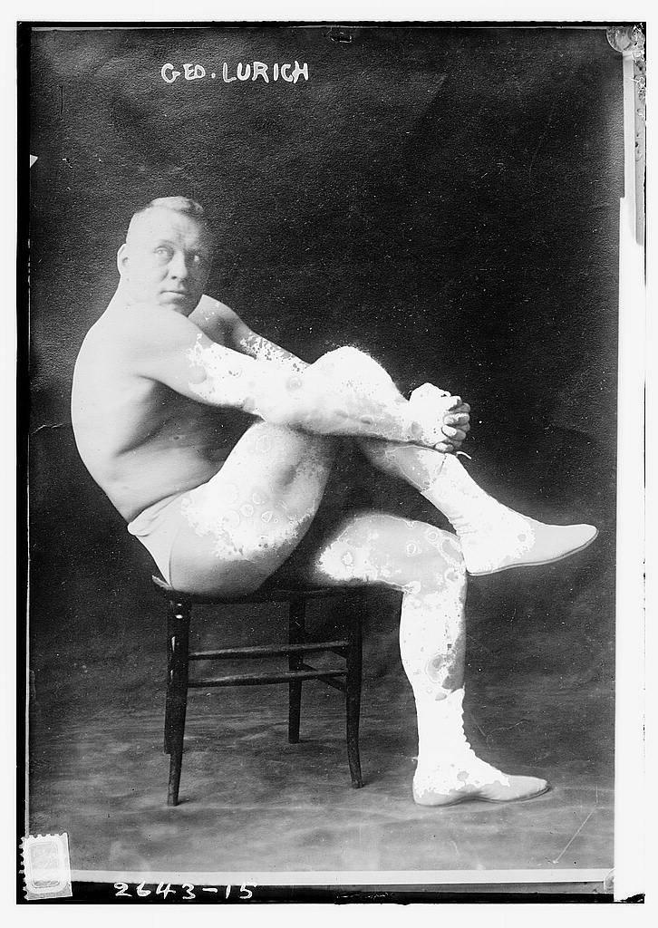Спортсмен Георг Лурих - Stone Forest