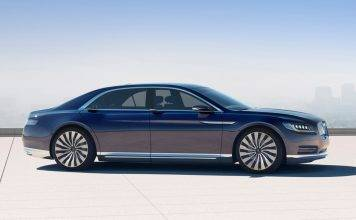 Lincoln Continental 2016 - Stone Forest