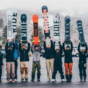 Компания Ride Snowboards - Stone Forest