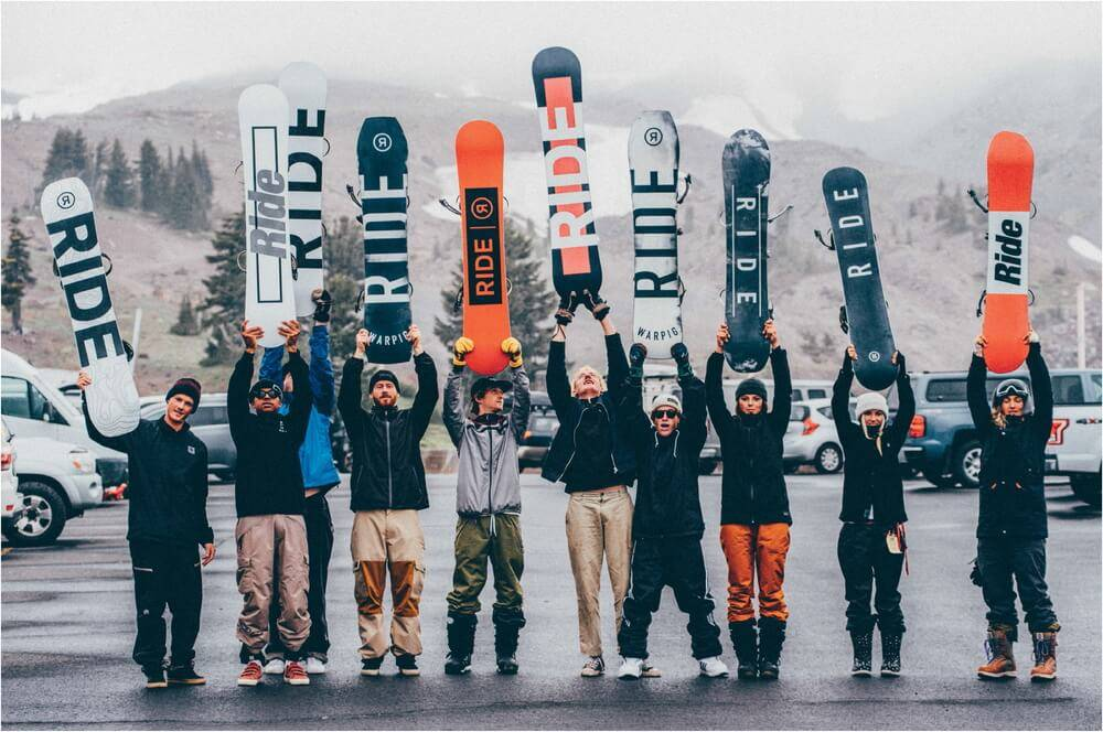 Компания Ride Snowboards - Stone Forest