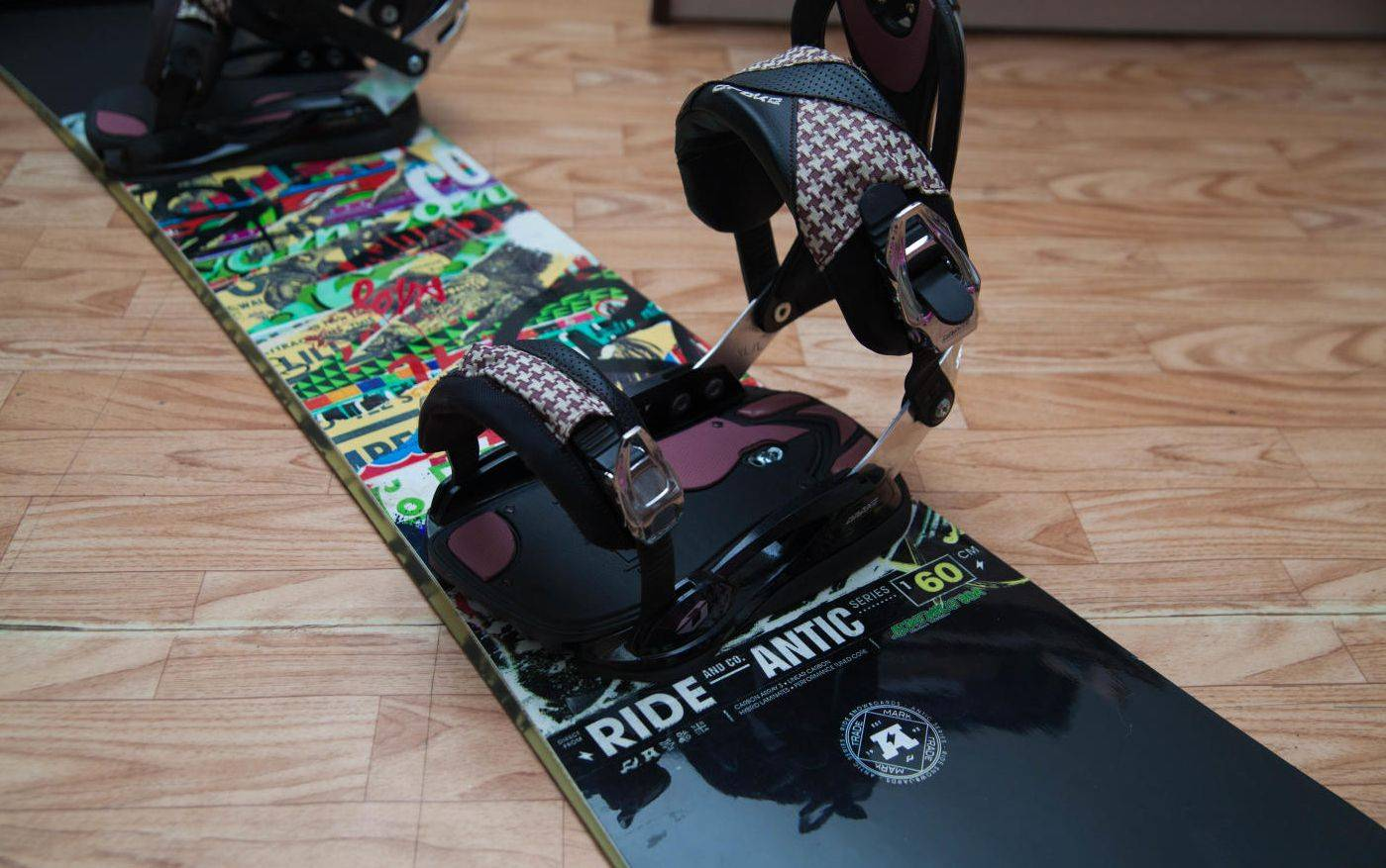 Крепление Ride Snowboards - Stone Forest