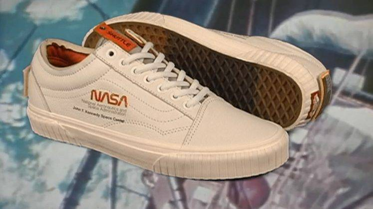 Кеды Nasa Vans Space Voyager - Stone Forest