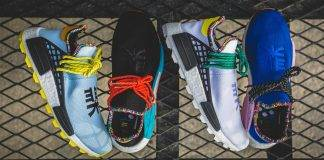 кроссовки adidas x pharrell williams hu