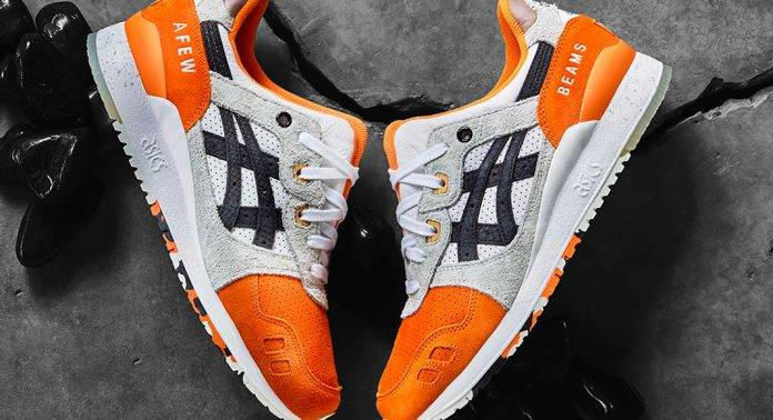 Кроссовки AFEW × BEAMS × ASICS GEL-Lyte III