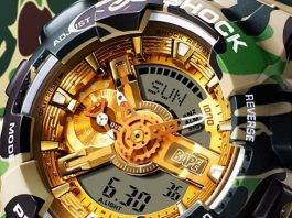 G-SHOCK X BAPE - Stone Forest