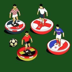 Чемпионат Европы по футболу - Stone Forest