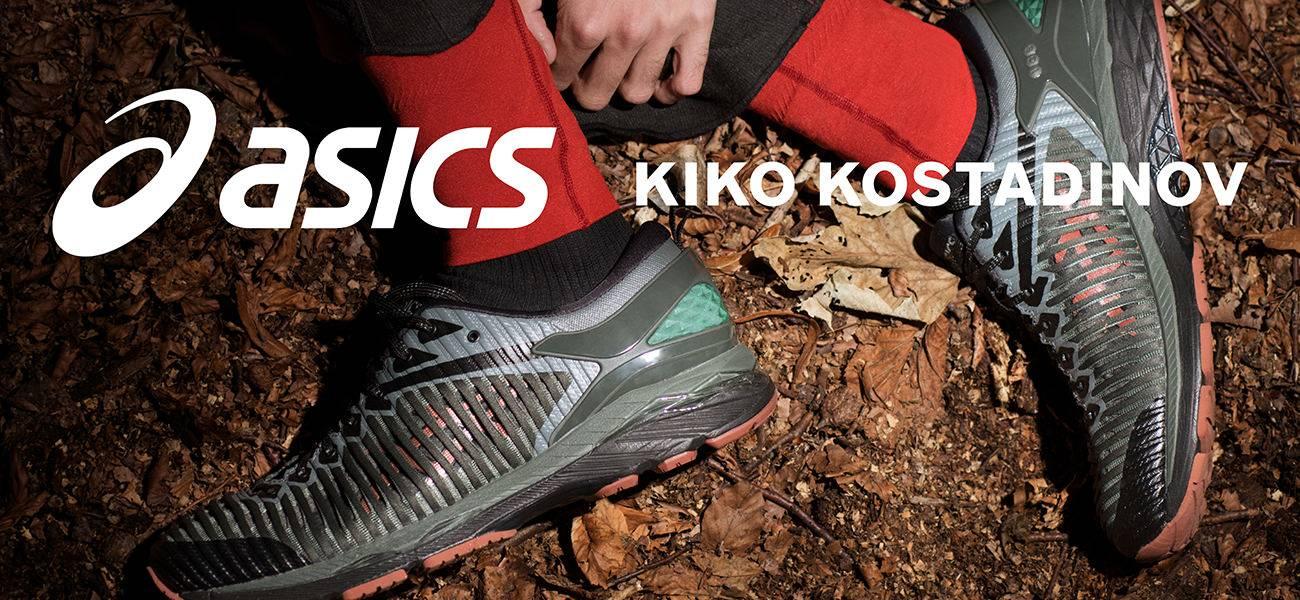 Кроссовки ASICS × Kiko Kostadinov GEL-Delva 1 — высокая мода и функциональность