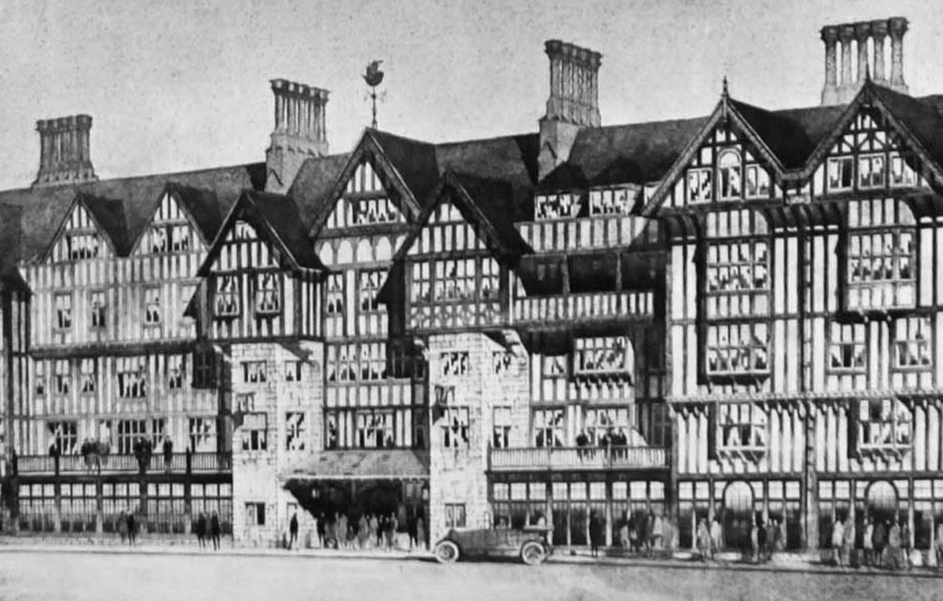 здание магазина Liberty London