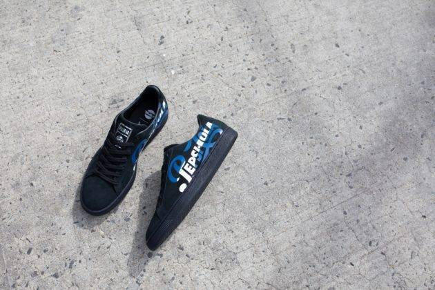 Релиз pepsi x puma suede - Stone Forest