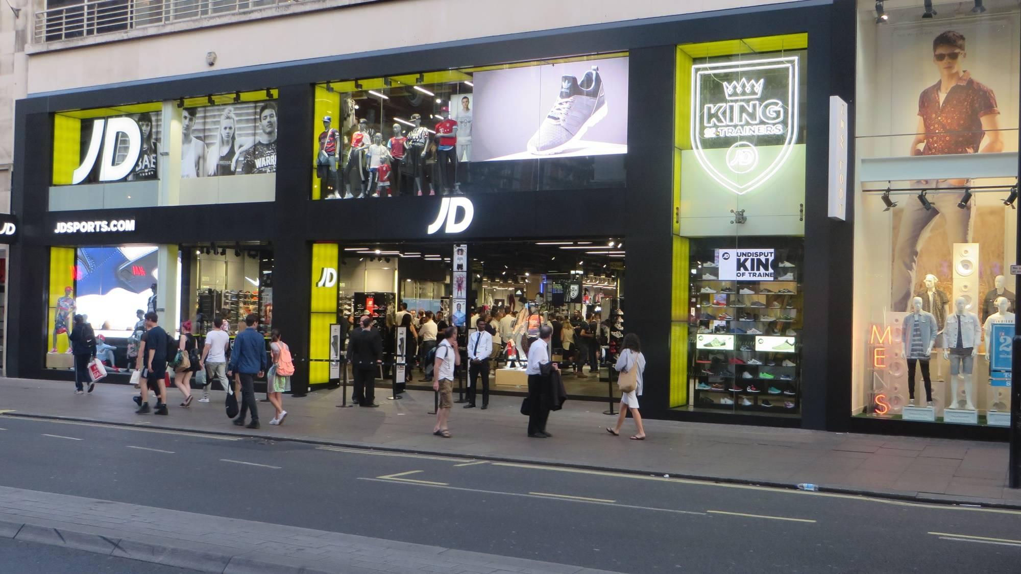 jd sports uk обзор сети магазинов на русском языке