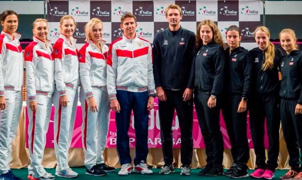 сборная Российской Федерации по теннису и капитан Игорь Андреев