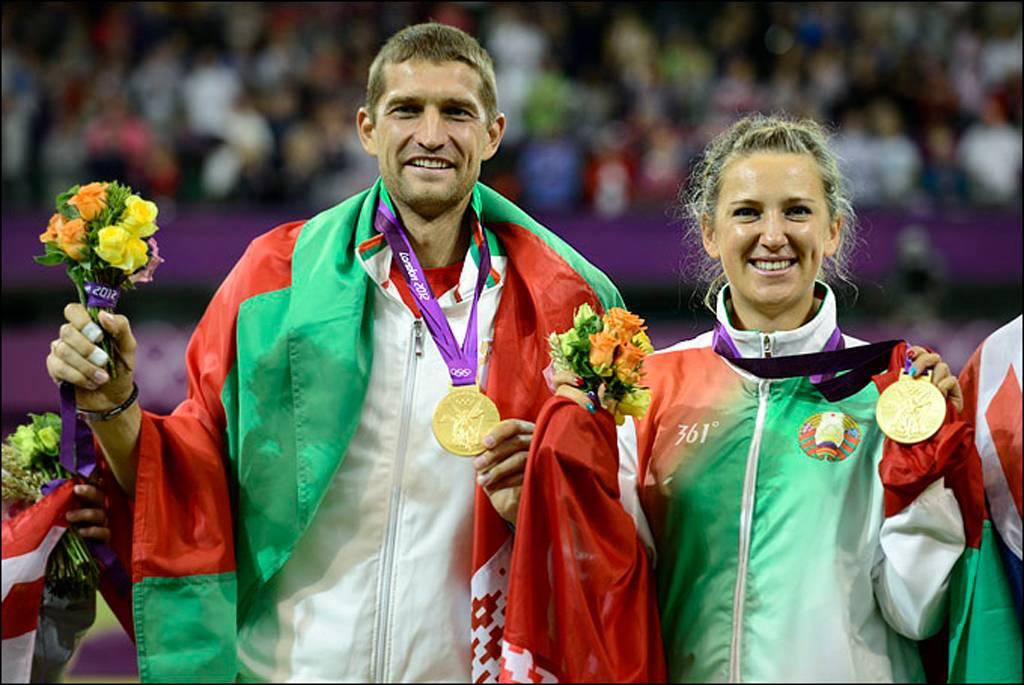 Олимпиада Виктория Азаренко и Максим Мирный