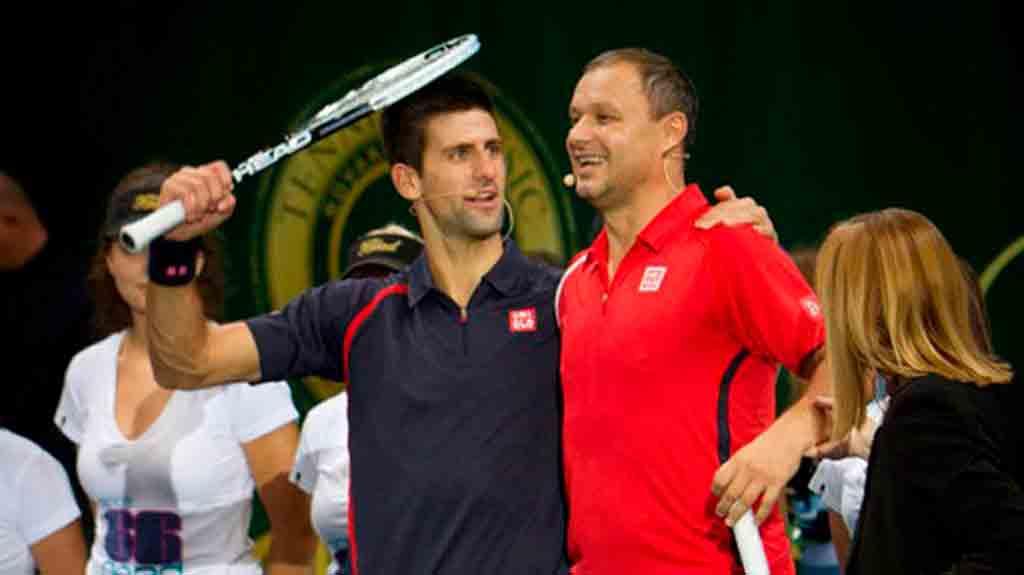 Марьян Вайда - теннисист и тренер