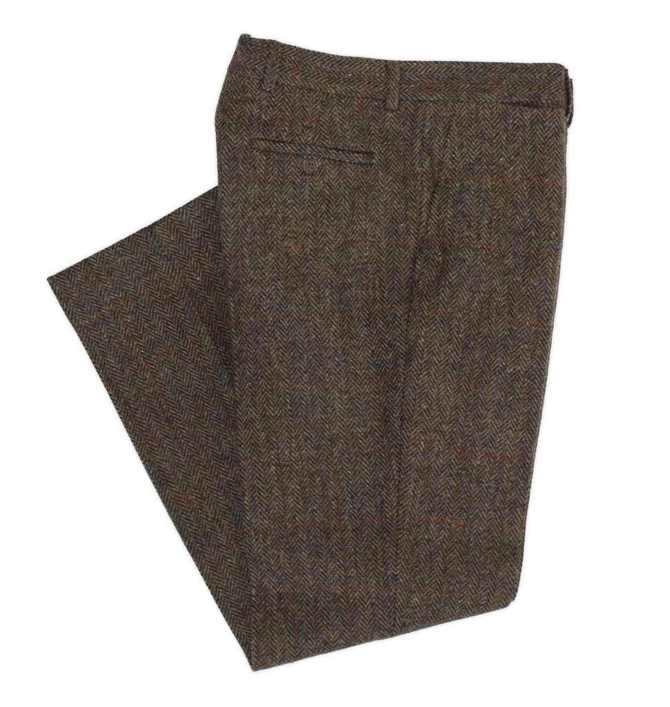 Британские Твидовые брюки - Stone Forest