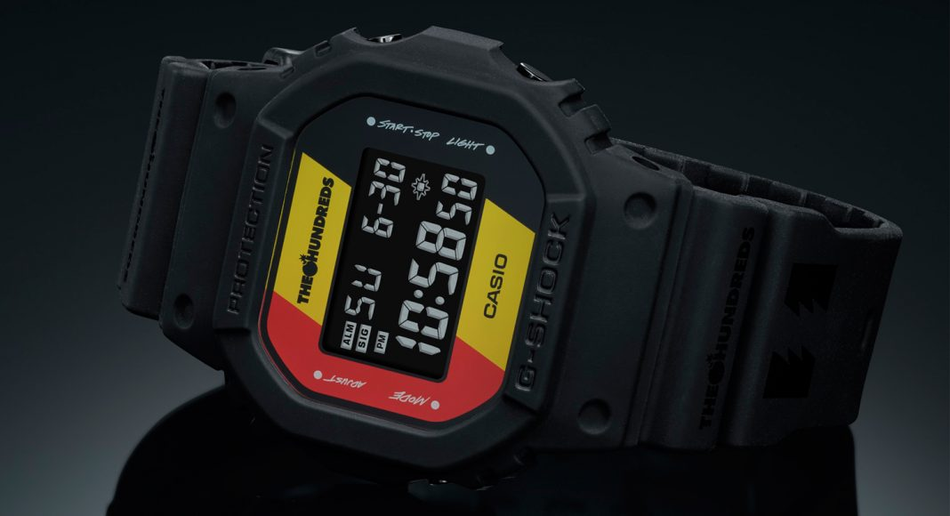 G-SHOCK x THE HUNDREDS - Stone Forest