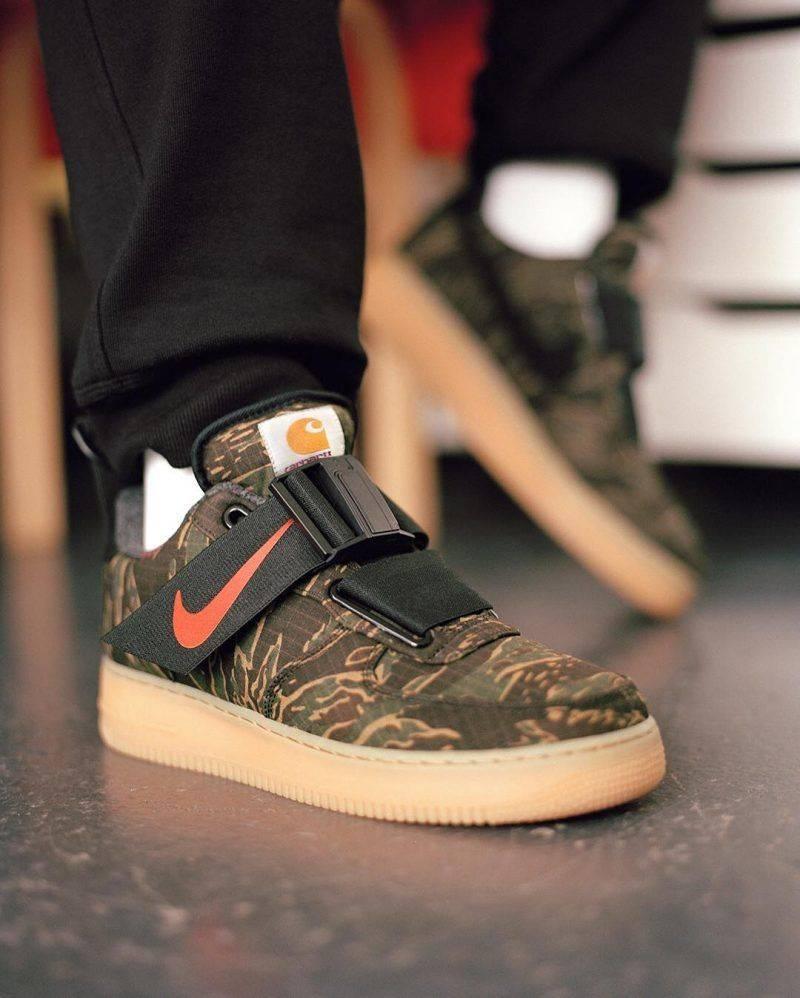 Кроссовки Nike x Carhartt WIP - Stone Forest