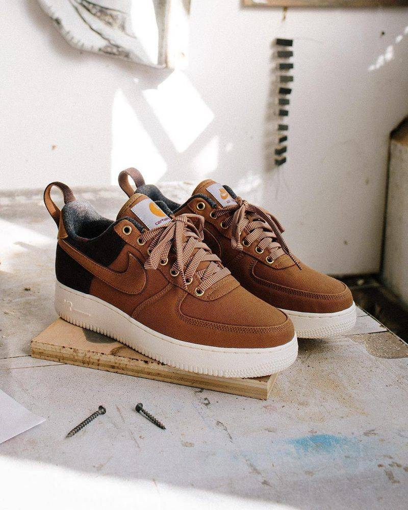 Премьера Nike x Carhartt WIP - Stone Forest