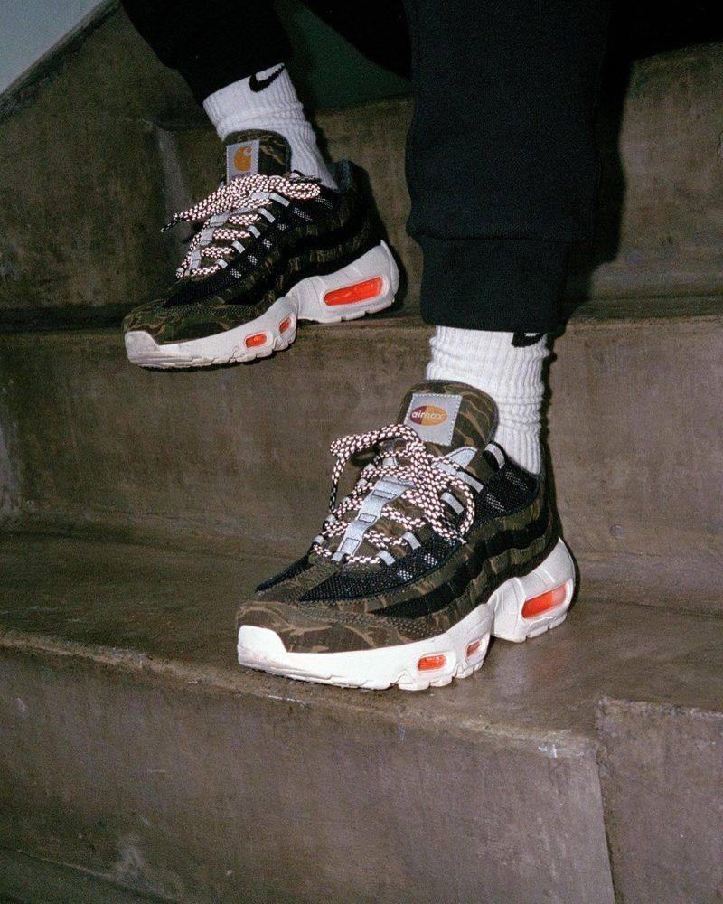 Коллекция Nike x Carhartt WIP - Stone Forest