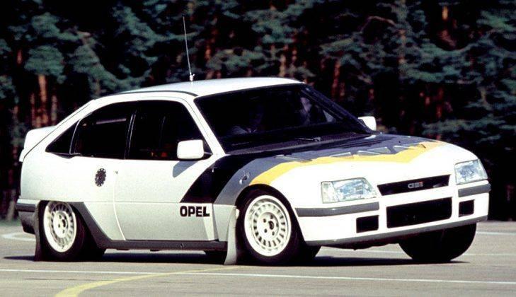 Opel Kadett E - Stone Forest