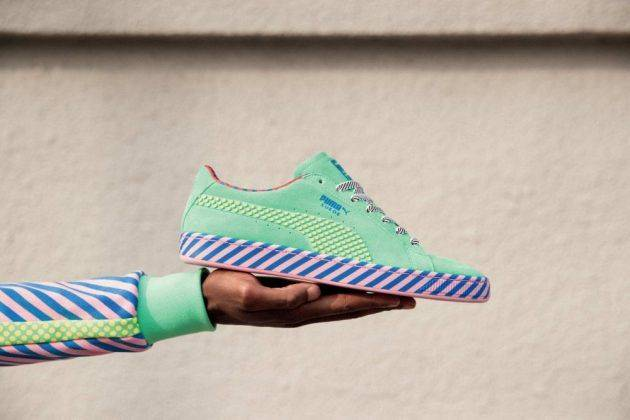 Релиз Puma Suede 50 Pop Culture - Stone Forest