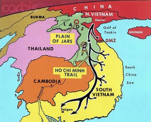 Карта тетского наступления - Stone Forest
