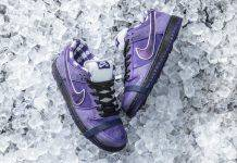Кроссовки CONCEPTS × Nike SB Dunk Purple Lobster