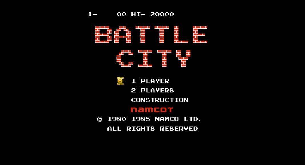 battle city игра танчики