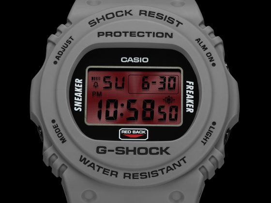 Касио G-SHOCK x Sneaker Freaker x STANCE - Stone Forest