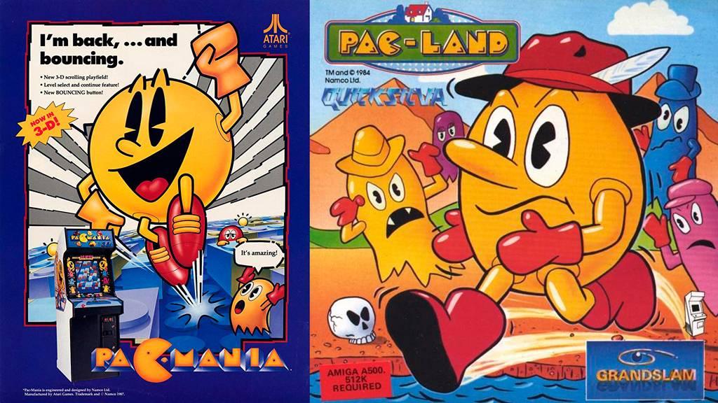 Pac-Land и Pac-Mania