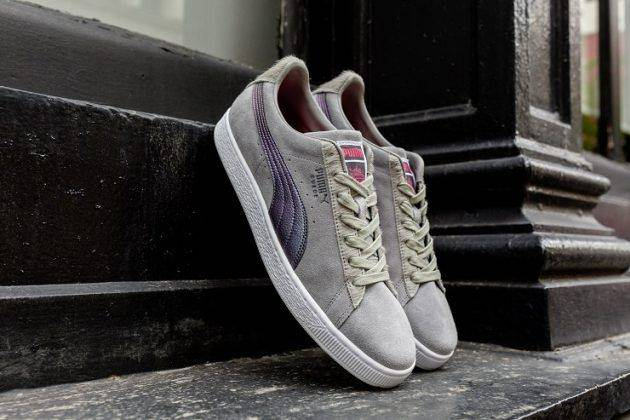 Кроссовки Puma Staple Suede 50 - Stone Forest