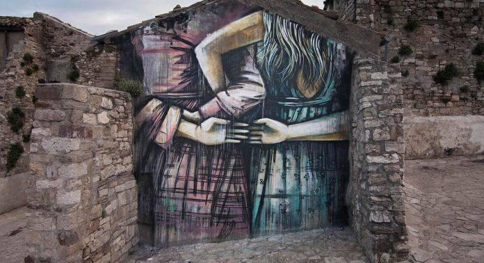 CVT graffiti Civitacampomarano - Каменный Лес Stone Forest