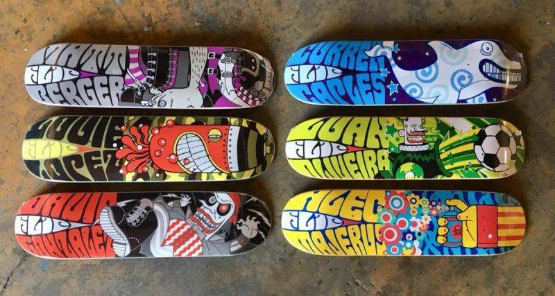 Доски Flip Skateboards - Stone Forest
