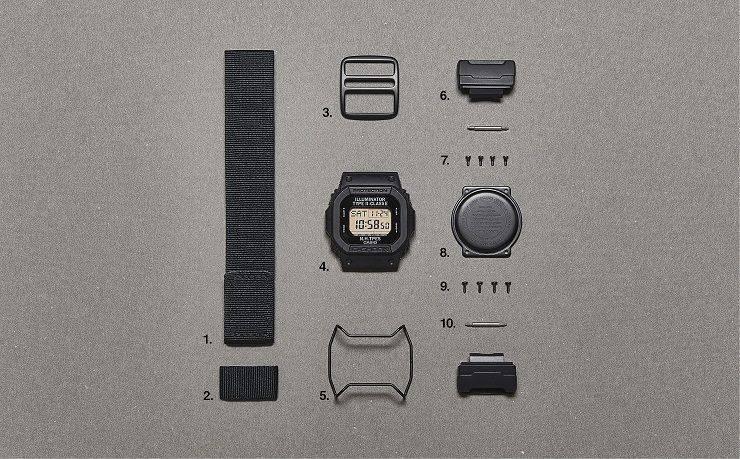 Часы Casio G-SHOCK x N.HOOLYWOOD - Каменный Лес Stone Forest