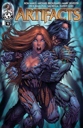 Image Comics Witchblade - Каменный лес Stone Forest