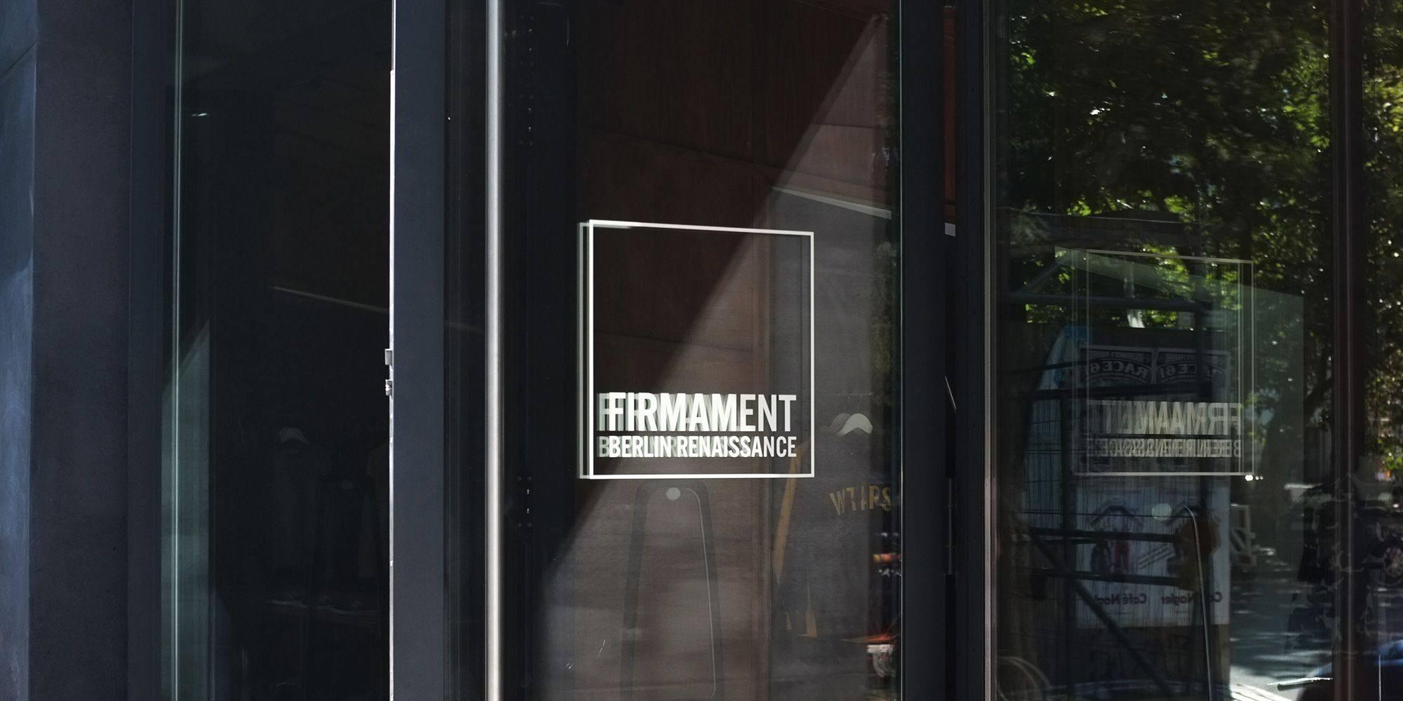 берлинский магазин Firmament