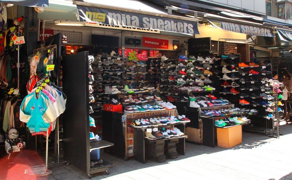 истоки токийского mita sneakers
