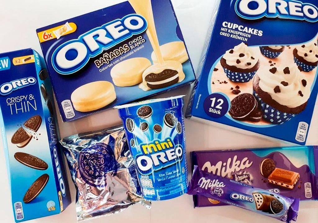 разновидности печенья Oreo