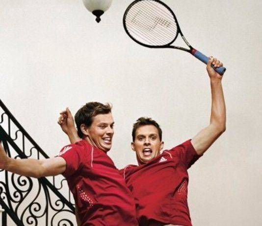 Теннисисты Боб и Майк Брайаны