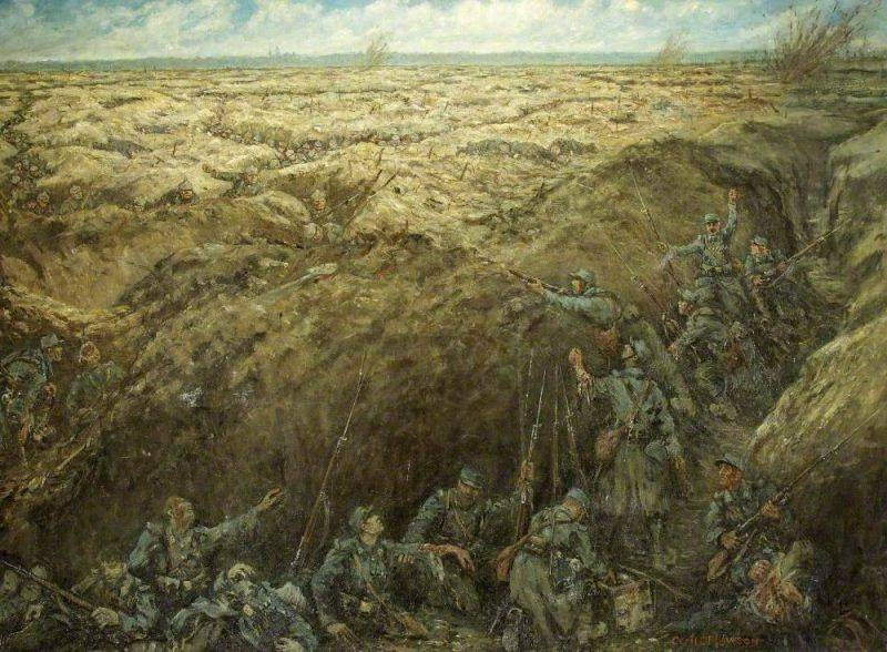 Верденская мясорубка 1916 - Каменный лес Stone Forest