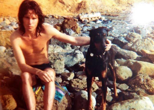 Джим Моррисон со своей собакой - Каменный лес Stone Forest