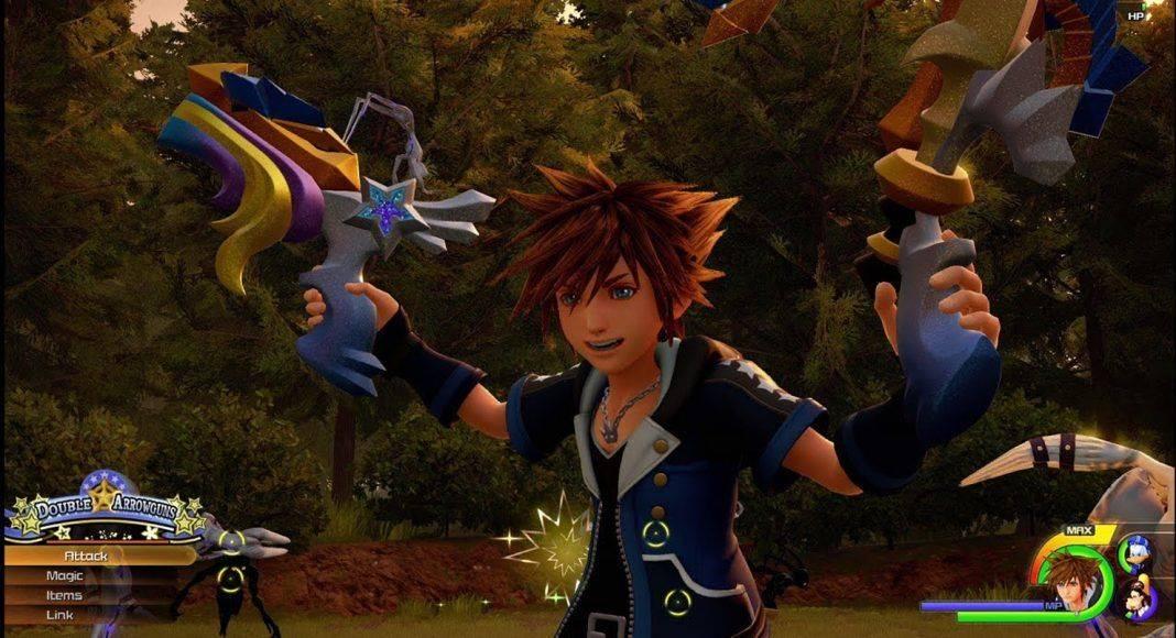 Kingdom Hearts III - Каменный лес Stone Forest